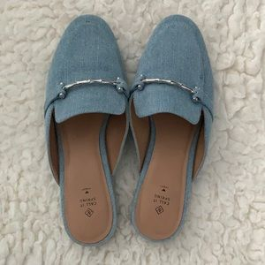 Call It Spring Blue Mules